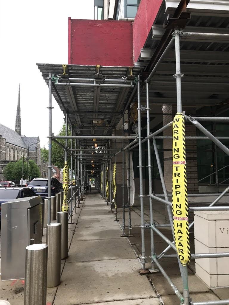 superior scaffold, scaffolding, scaffold, transport platform, elevator, lift, work deck, system scaffold, canopy, sidewalk shed, overhead protection, pa, de, nj, philly, philadelphia