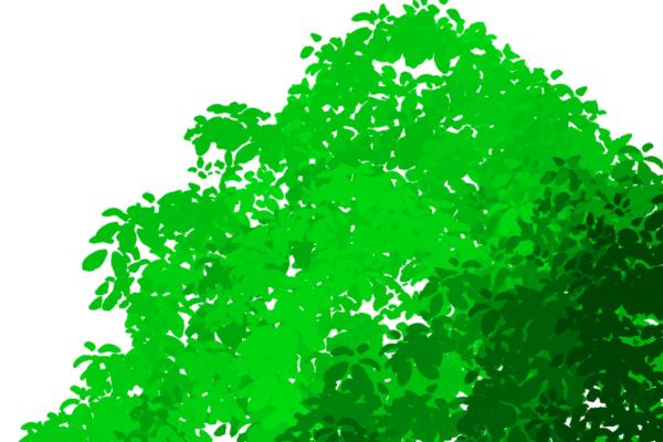 クリスタ「色の変化」で陰影表現