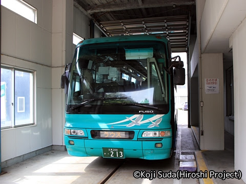 斜里バス「ウトロ羅臼線」 ・213 ウトロ温泉バスターミナル_03