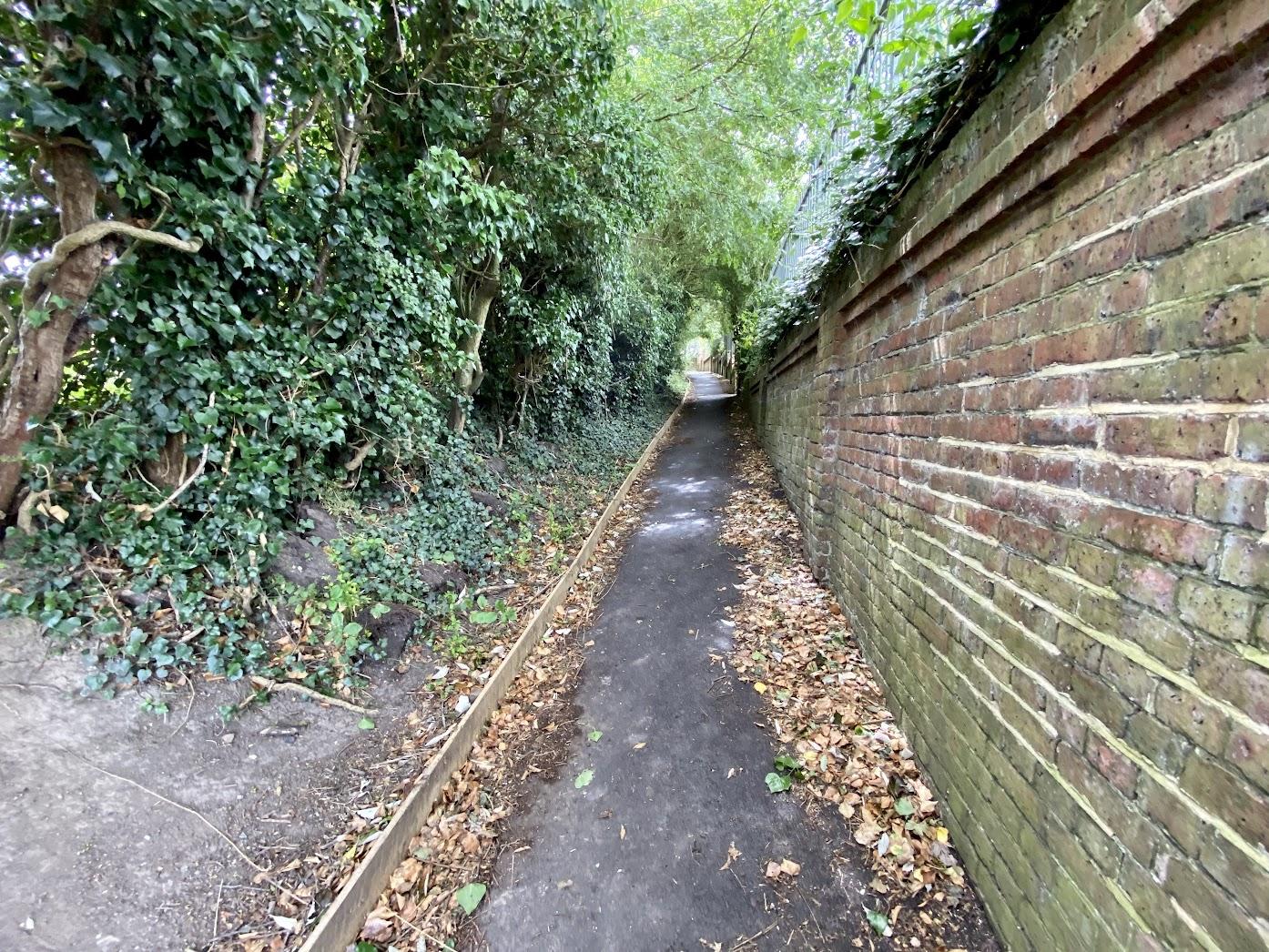Walk - Old Dairy Brewery - Old Railway Path - AB16 - Tenterden Town Station