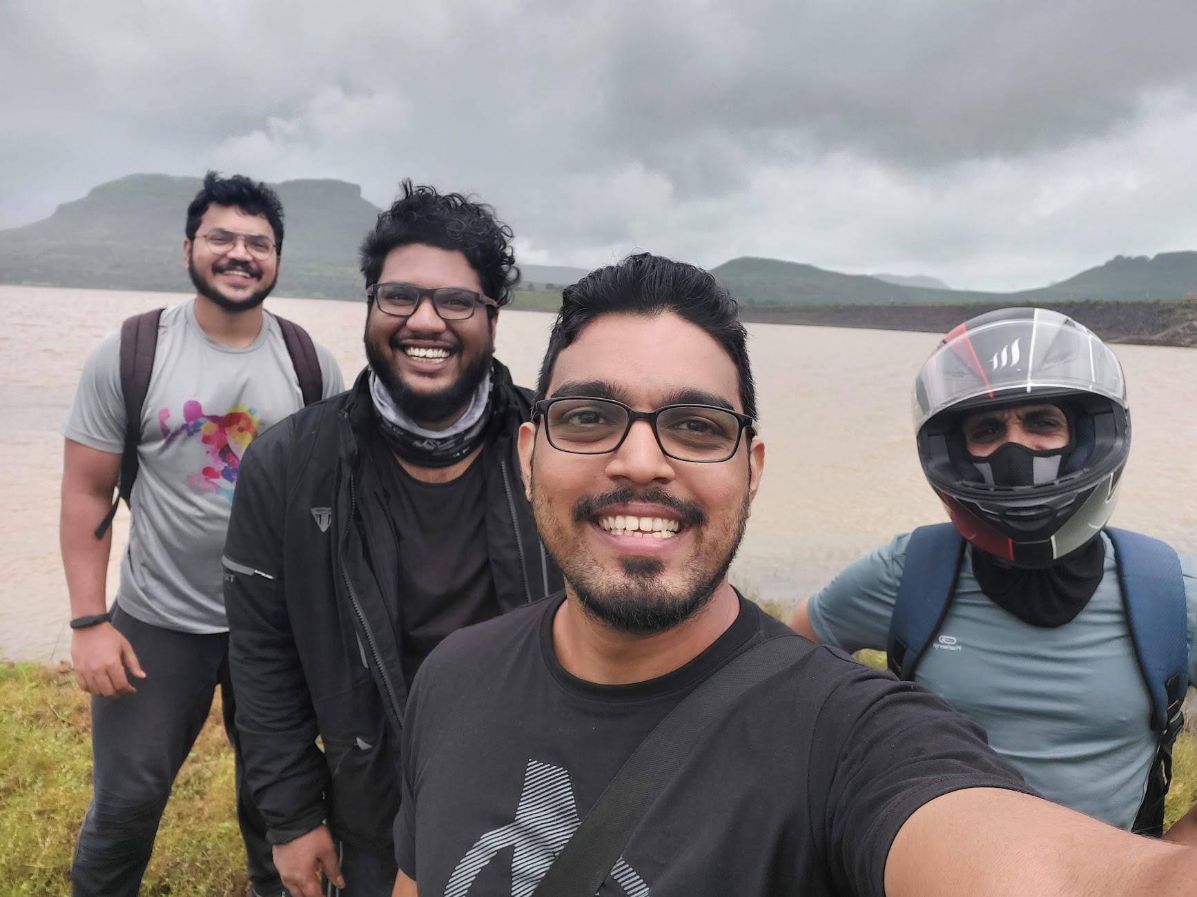 at Waki dam