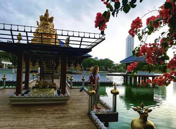Gangaramaya temple photos