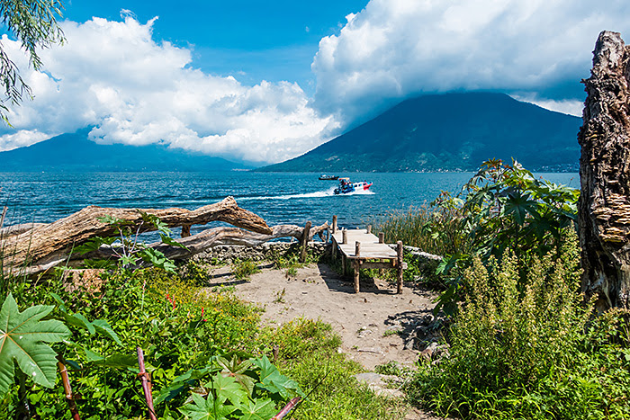 San Marcos la Laguna, lacul Atitlan