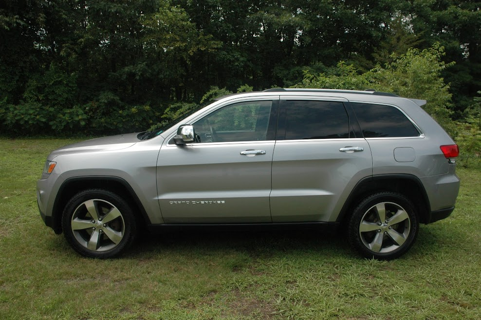 2015 Jeep Grand Cherokee Limited HEMI Silver