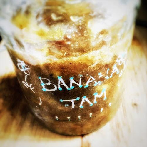 Banana Jam, recipe, easy, homemade, jam, banana
