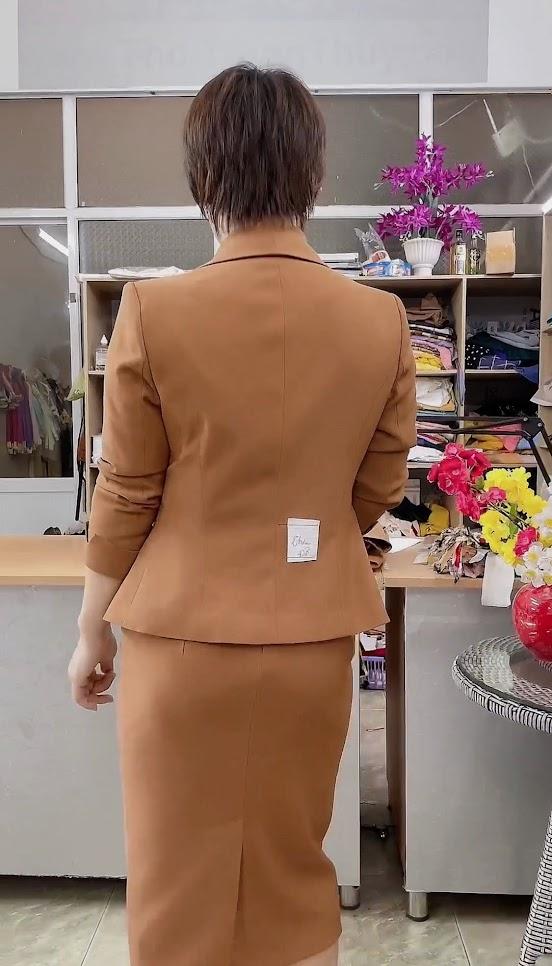 áo vest nữ đồng phục công sở bên bảo hiểm thời trang thủy hải phòng 1