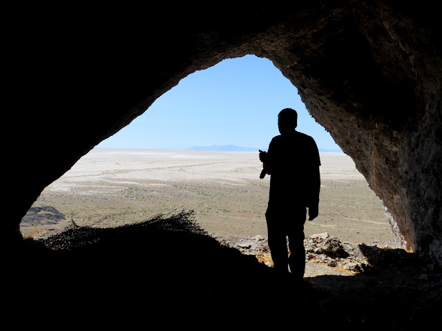 View out of Floating Island cave