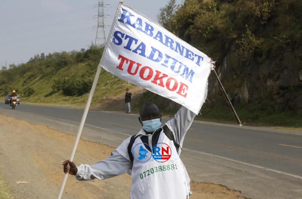 354KM DOWN: Mzee Malatit Completes Walk from Baringo to Nairobi