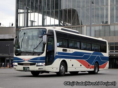 沿岸バス「13快速幌延留萌線」「56快速留萌旭川線」 ・709