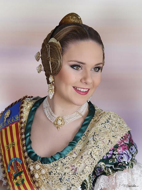 - Mª Amparo Pozuelo, falla Puis XII-Jaume Roig
