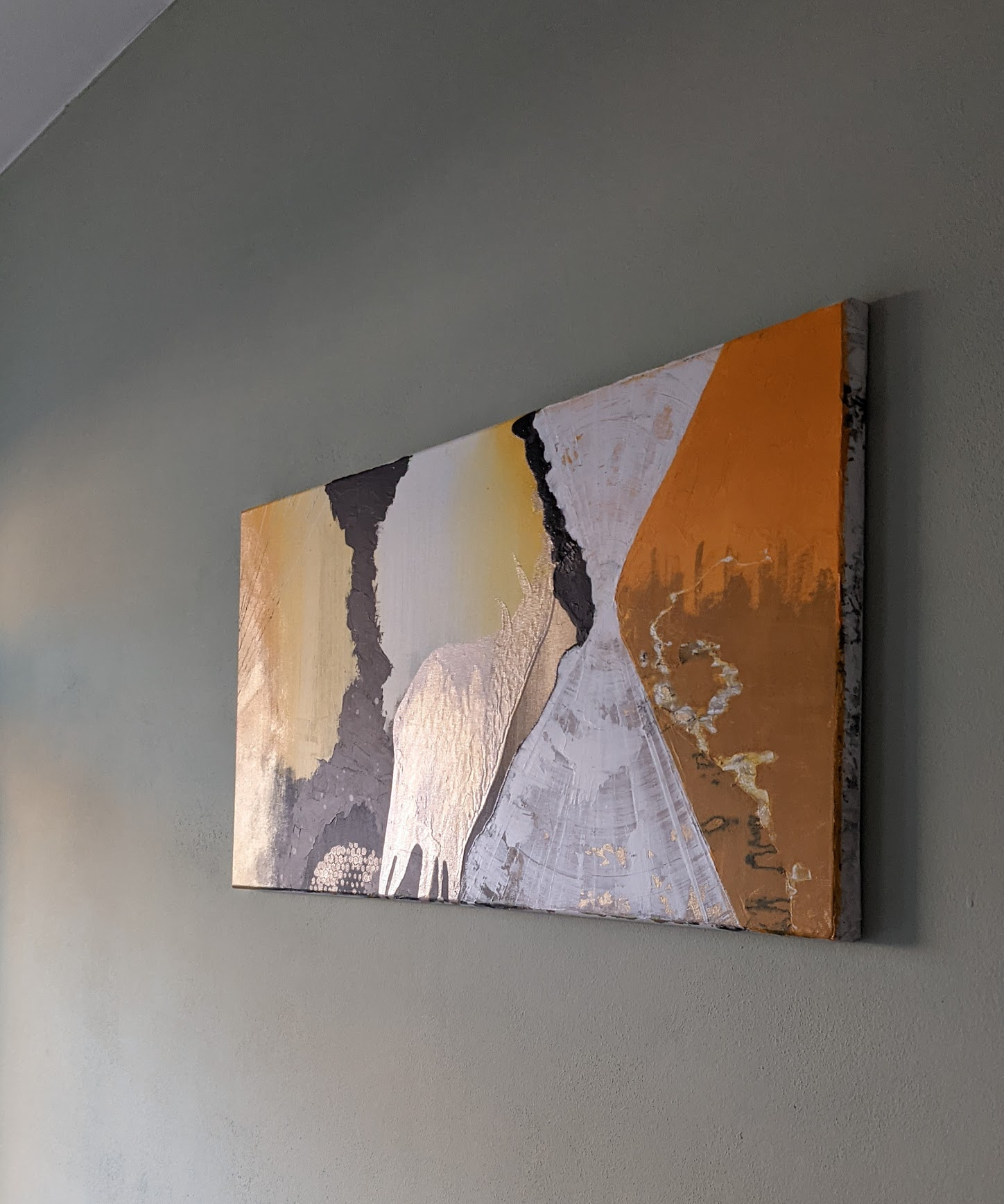 acrylic on canvas, 40 x 80cm, by Michal Cáb