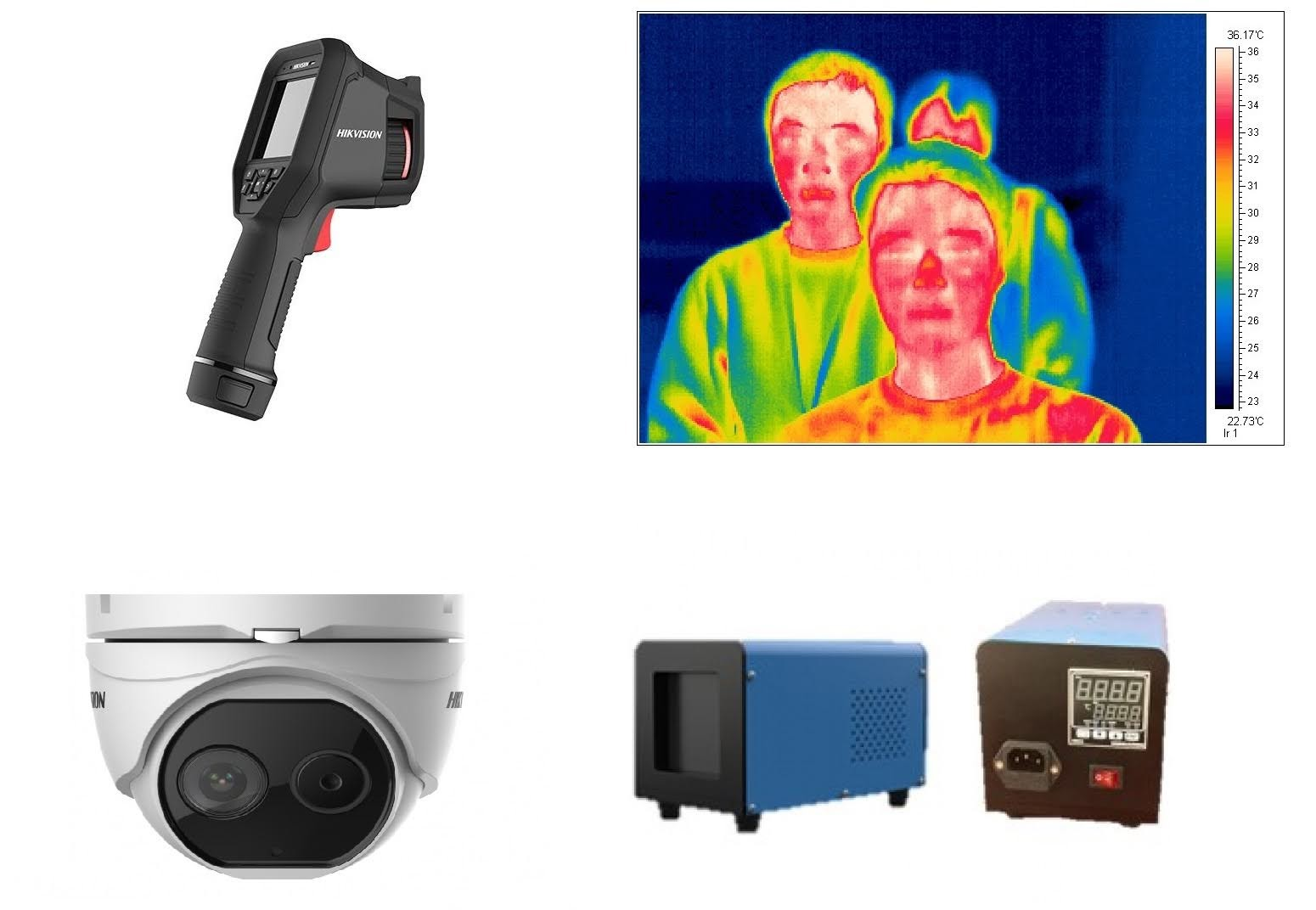 Медицинские тепловизоры Hikvision для измерения температуры тела человека портативные и стационарные купить по лучшей цене   ТД Сектор