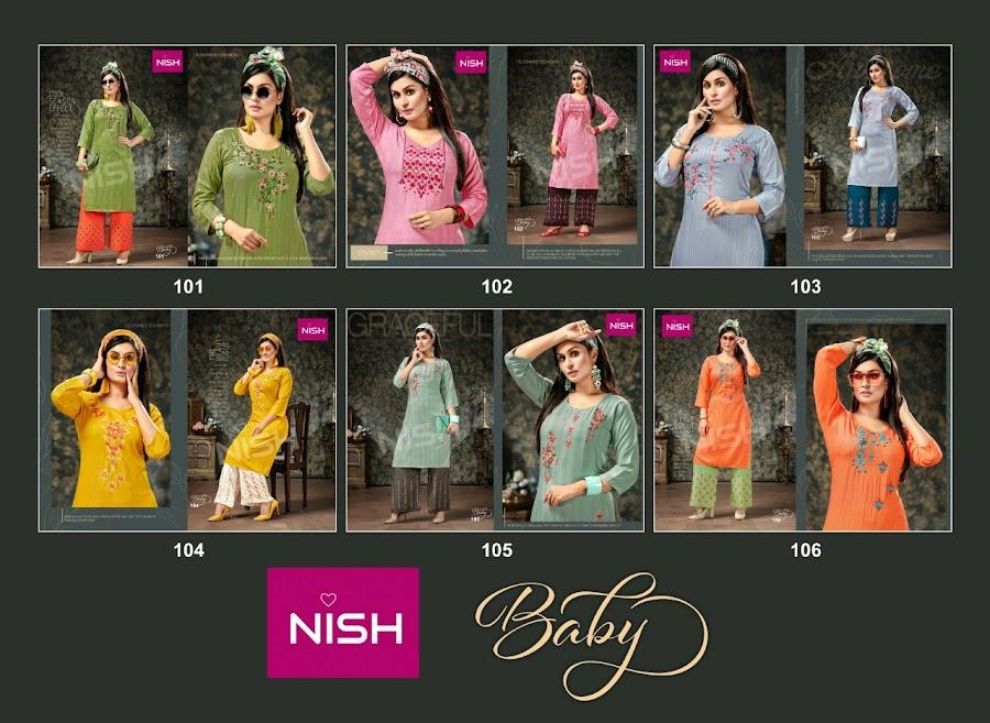 Buy Nish Baby Branded Kurta Plazzo Set Catalog Online Wholes