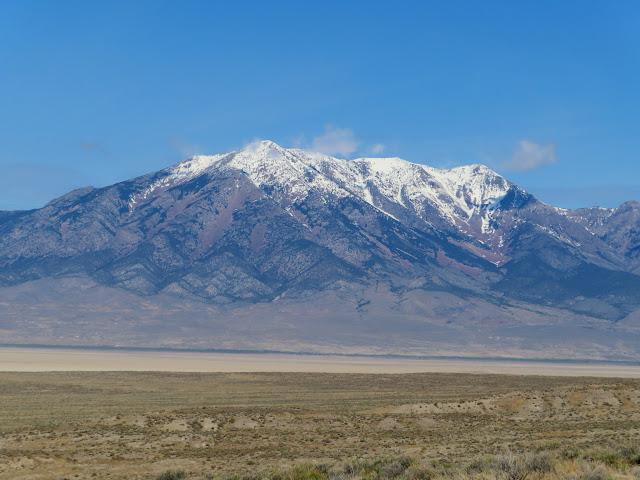 Pilot Peak across the border in Nevada
