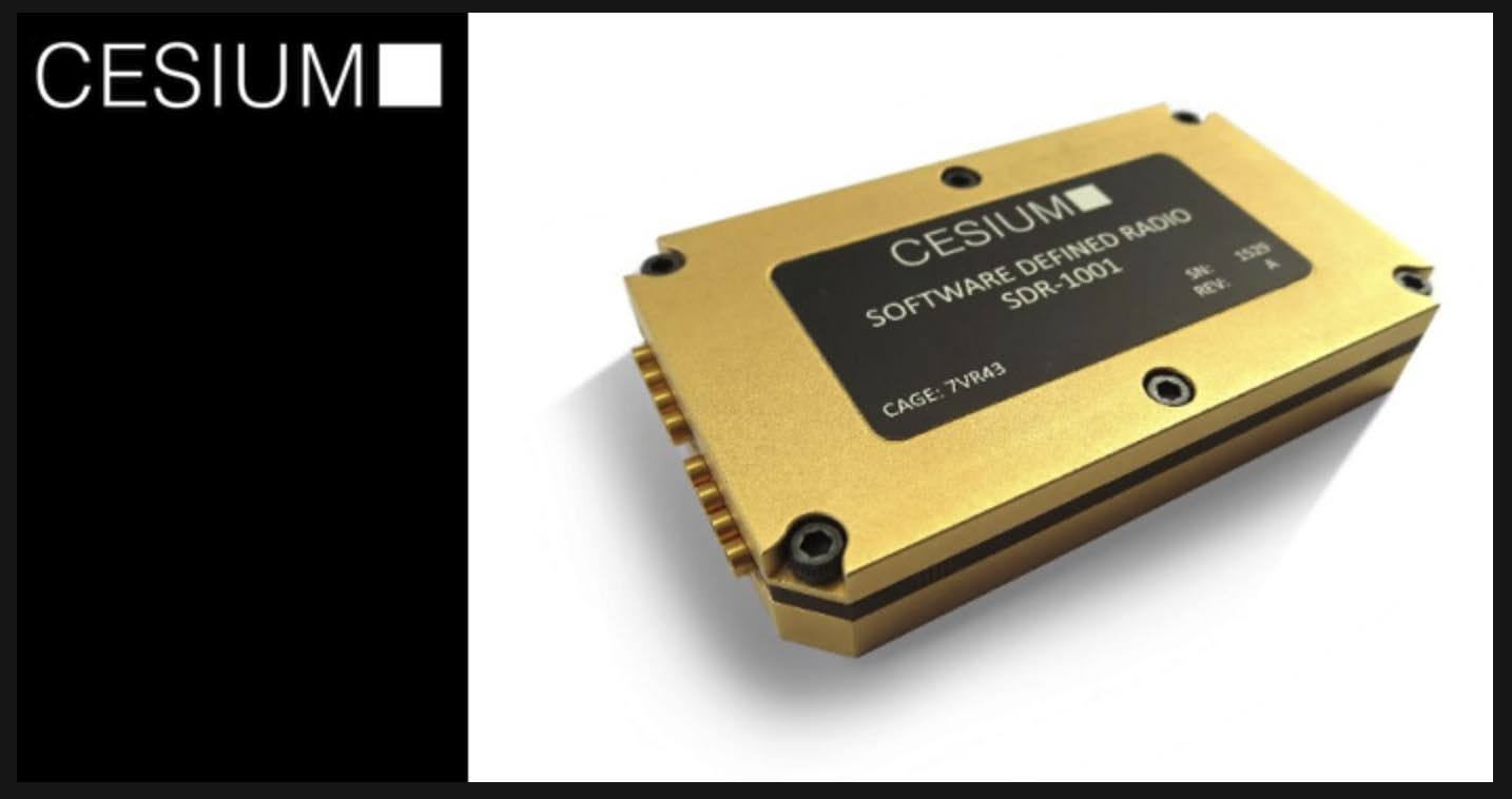 New Credit-Card sized SDR for 300 MHz to 6 GHz Applications.
