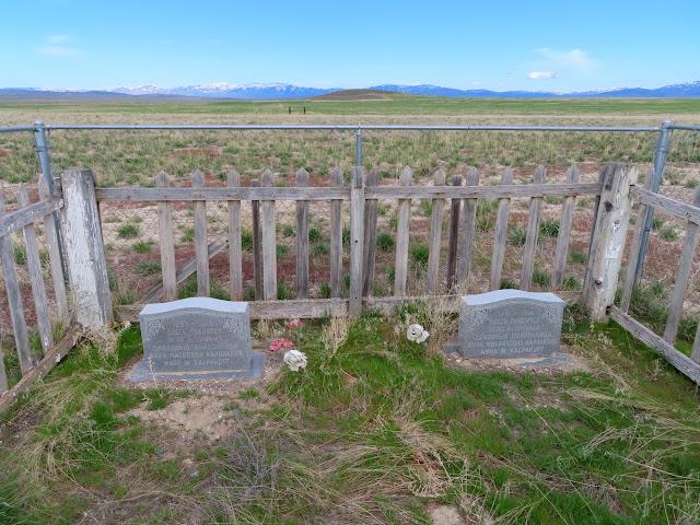 Graves at Russian Settlement