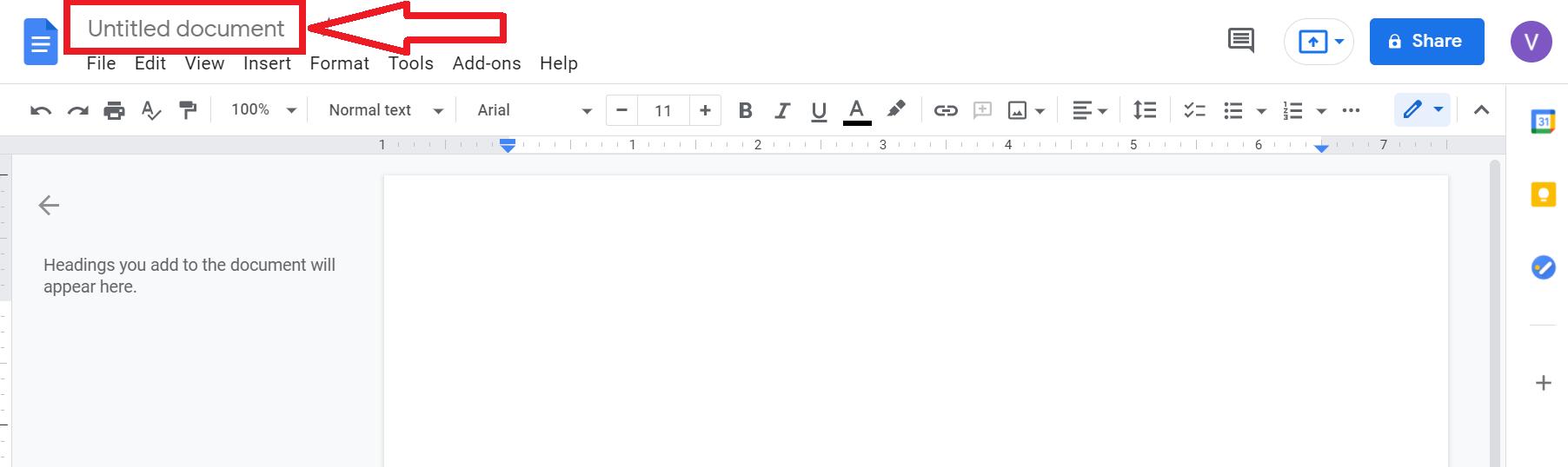 hướng dẫn cách tạo file google doc