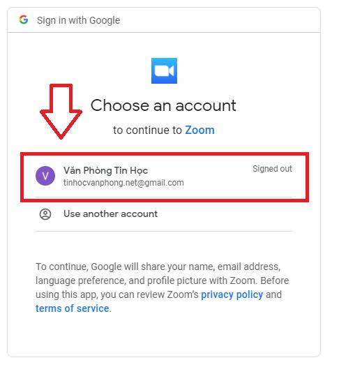 Thực hiện đăng nhập vào tài khoản Google(Gmail) của bạn