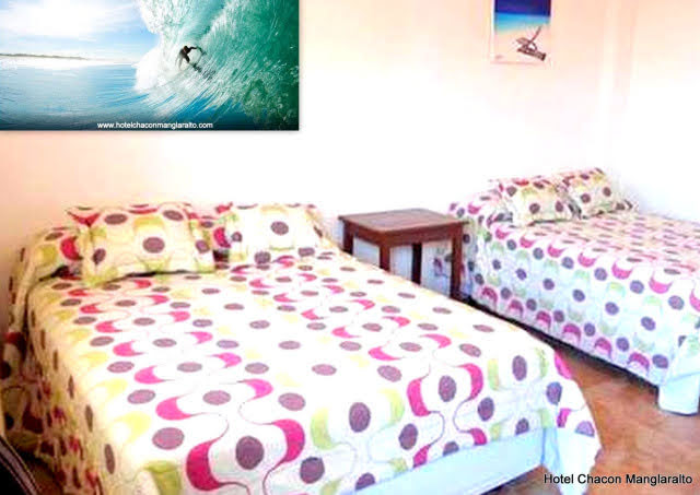 Habitacion Matrimonial Wifi Hotel Chacon Manglaralto Santa Elena Montañita Ecuador