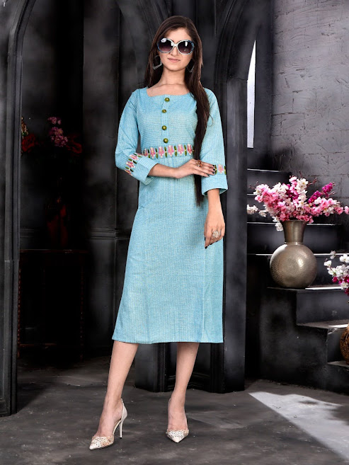 Buy Pari Payal Latest Straight Cut Kurtas Catalog Online Who