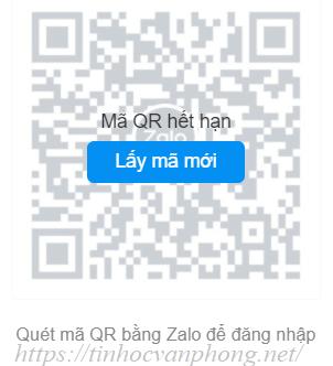 Mã QR code hết hạn