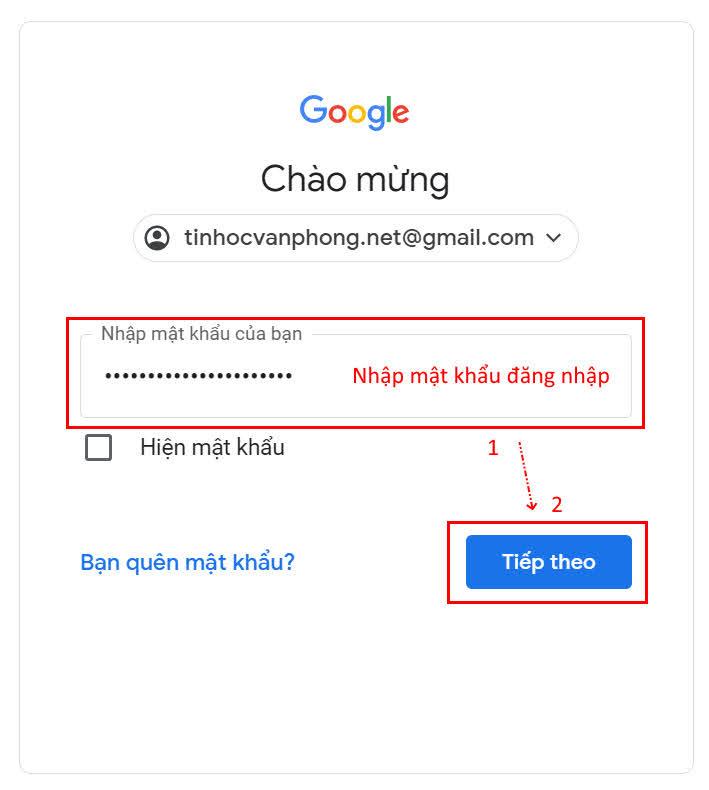 hướng dẫn cách đăng nhập google drive