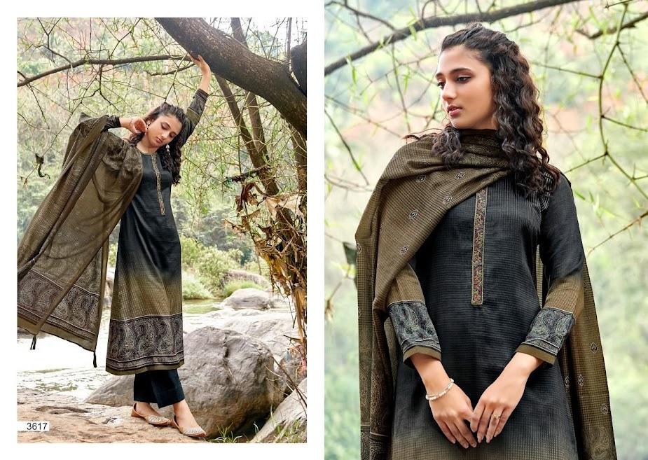 Buy Prm Trendz Haniya Vol 3 Pashmina Dress Material Catalog