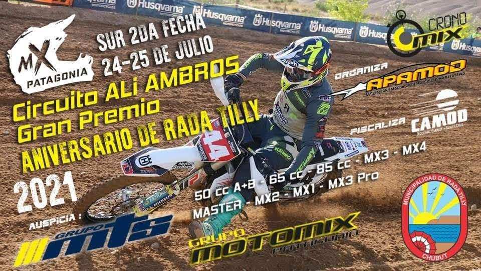 Todos los horarios para el MX de Rada Tilly