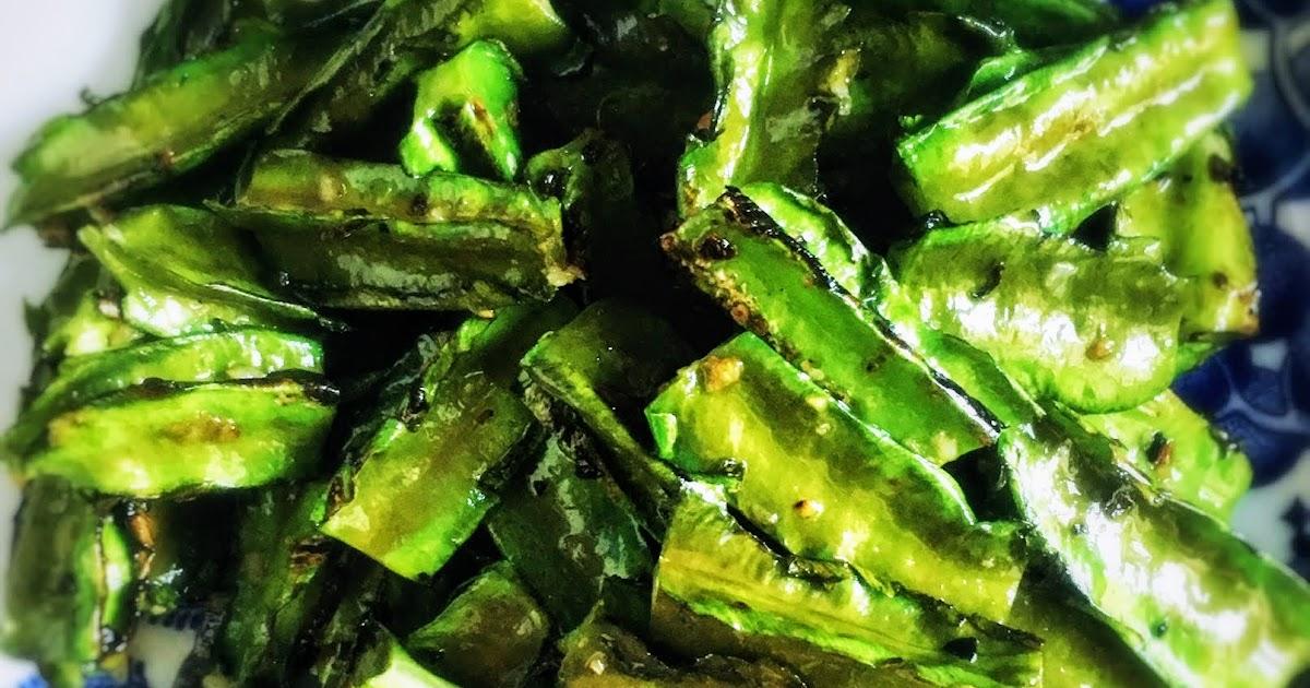 Winged Bean Garlic Stir Fry  蒜蓉炒翼豆