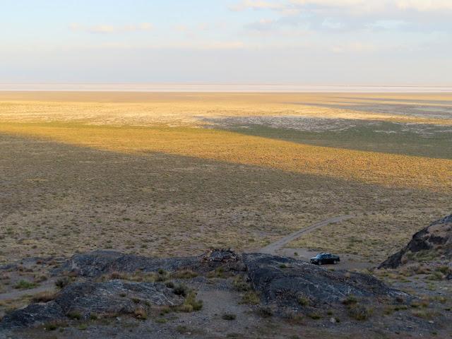 View toward the Salt Flats