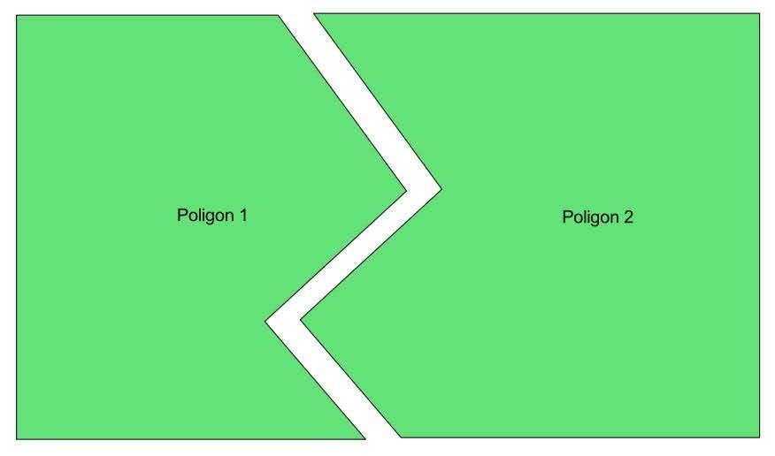 Ilustrasi poligon shp
