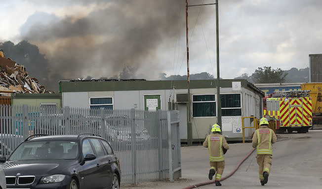 Call for fire control system after Potters blaze