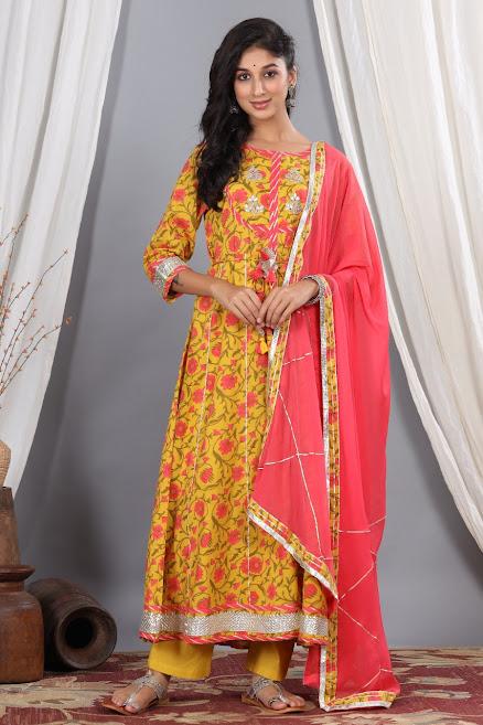 Design No 1008 Lovely Size Set Readymade Pant Style Dress Manufacturer Wholesaler