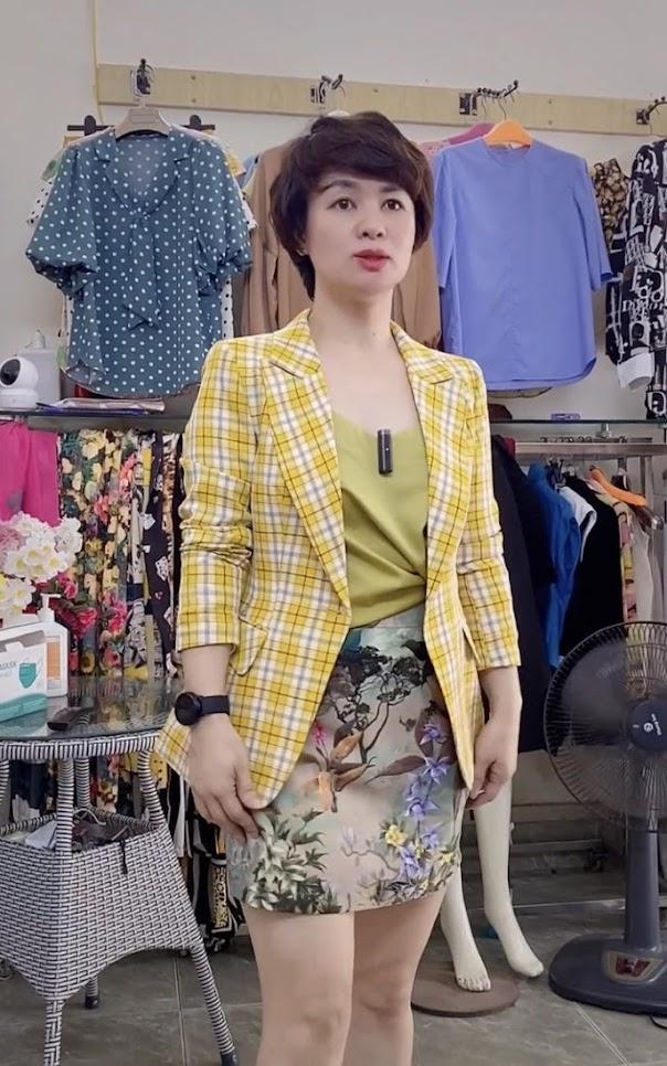 áo vest nữ công sở dáng eo phối đồ mặc đẹp thời trang thủy nguyên
