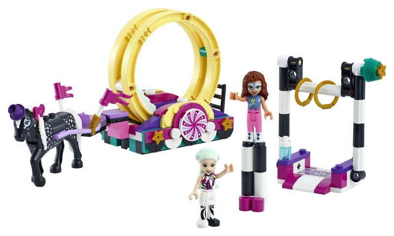 Contenido de LEGO® 41686 Mundo de Magia: Acrobacias