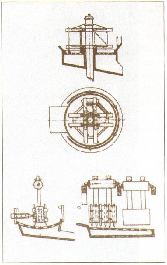 Механизированные промывочные приборы XIX века