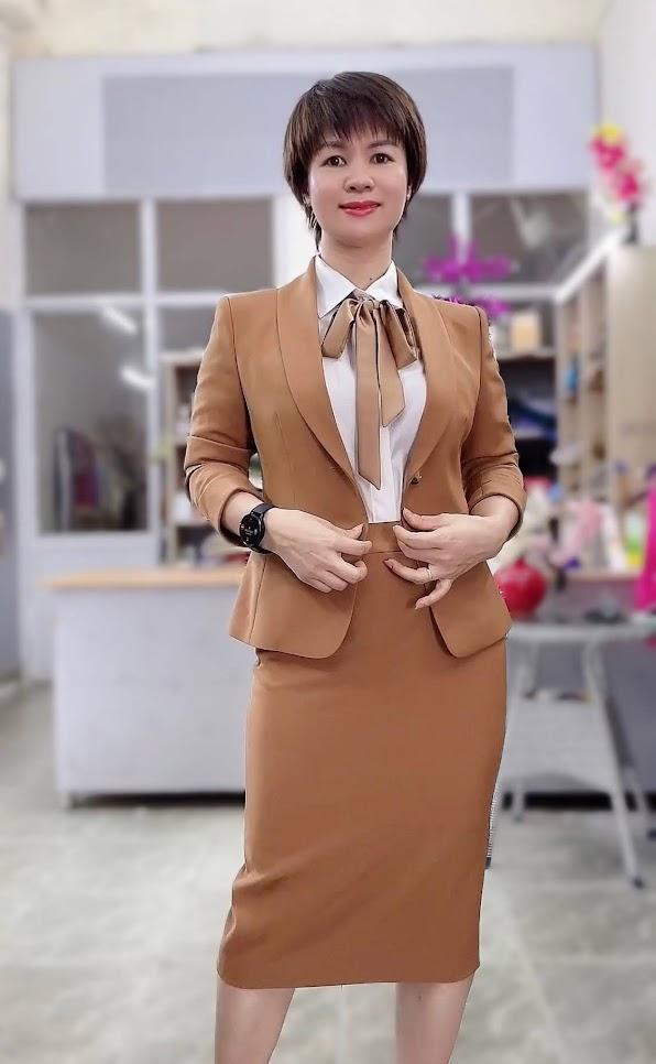 áo vest nữ đồng phục công sở bên bảo hiểm thời trang thủy hải phòng