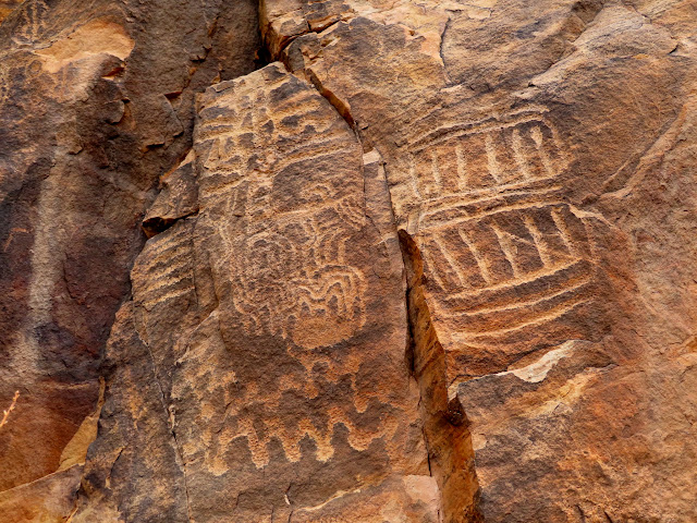 Parowan Gap petroglyphs