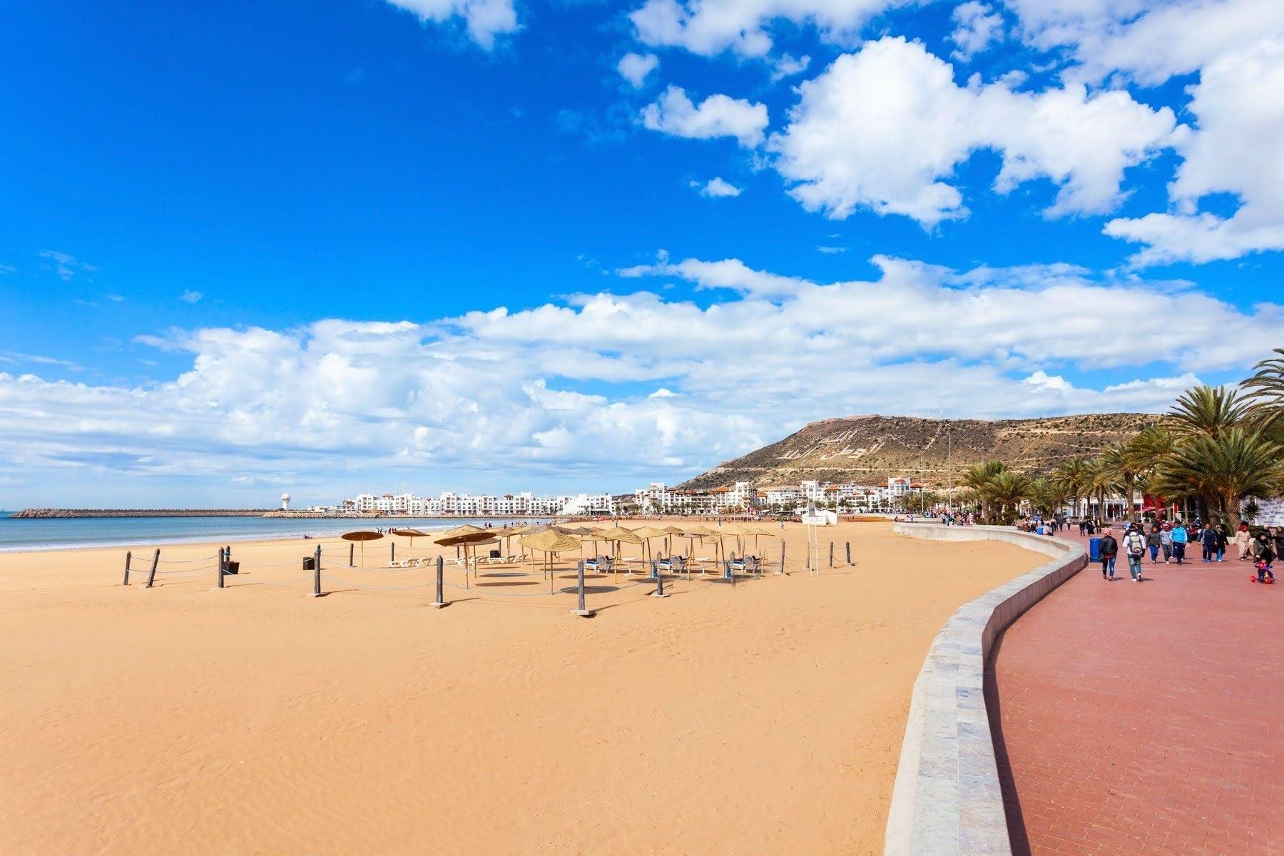 Агадир пляж