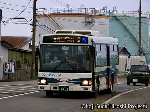 沿岸バス「12豊富留萌線」 1403