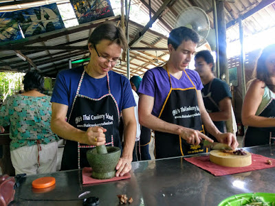 Late Afternoon Class Ya's Thai Cookery School in Ao Nang