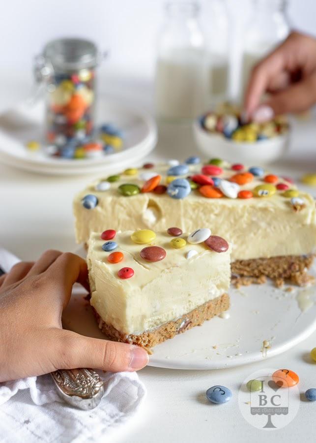 Cheesecake de Lacasitos