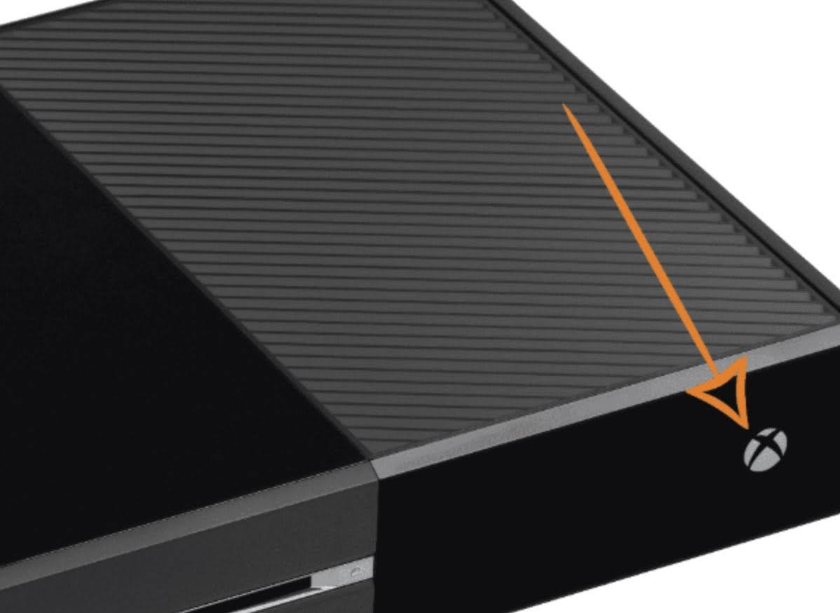 With the Xbox fully turned on, press and hold on the Xbox button on the console (Not controller) for 10 seconds or until the front LED stops flashing.