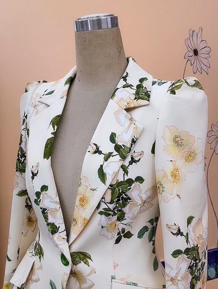 áo vest nữ dáng eo thiết kế phồng hông mặc đẹp thời trang thủy nam định
