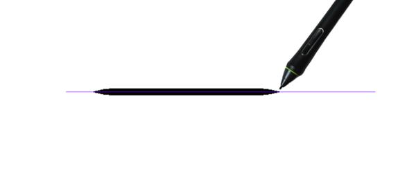 クリスタ直線定規を使用