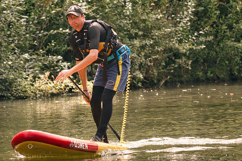 Business emerges from paddleboarding boom