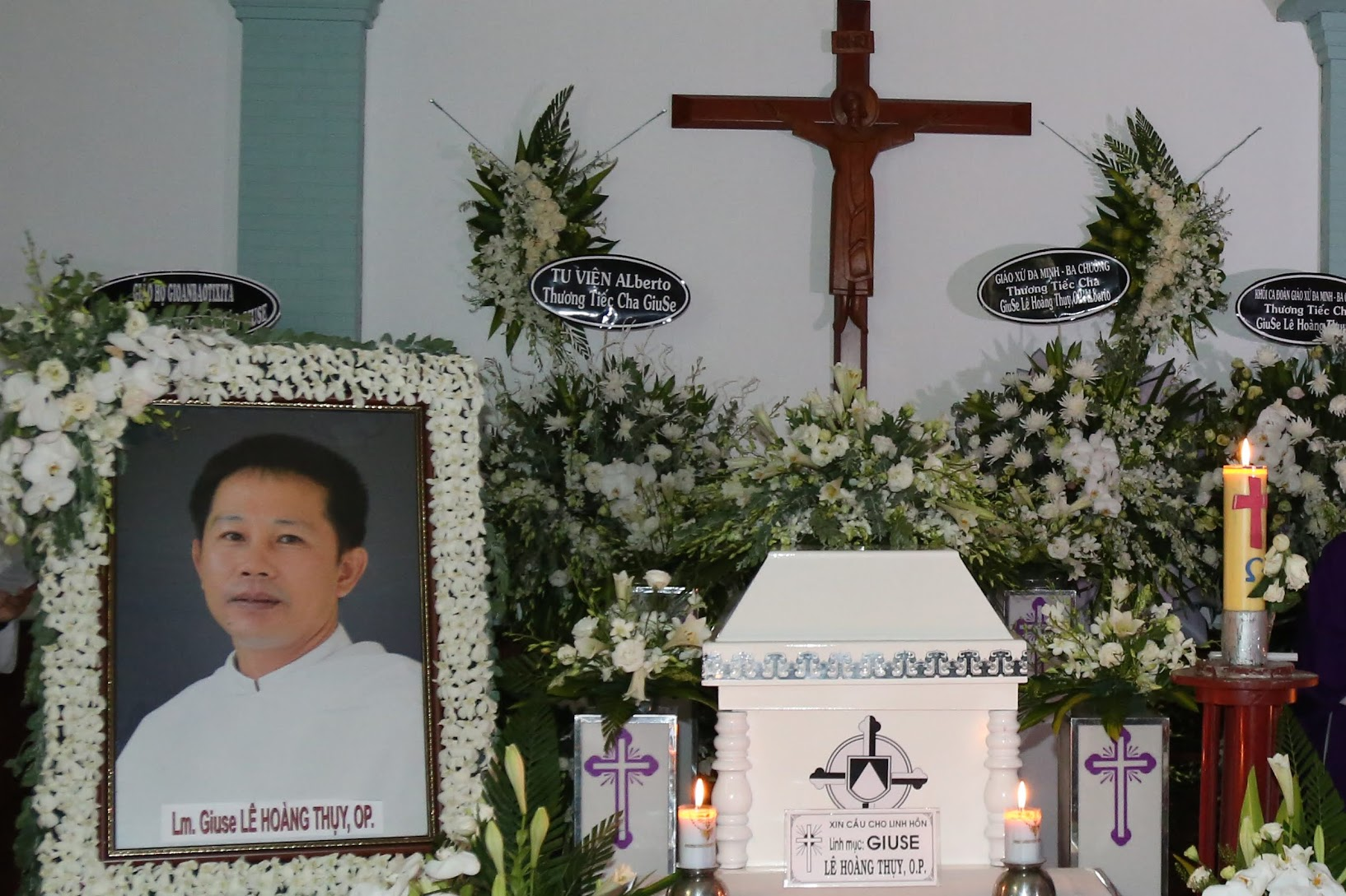 Video: Giảng lễ An táng cha Giuse Lê Hoàng Thụy, O.P.