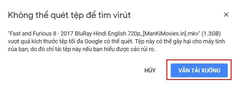 hướng dẫn xem video trực tiếp trên google drive