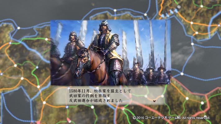 1580年11月 反武田家連合 結成