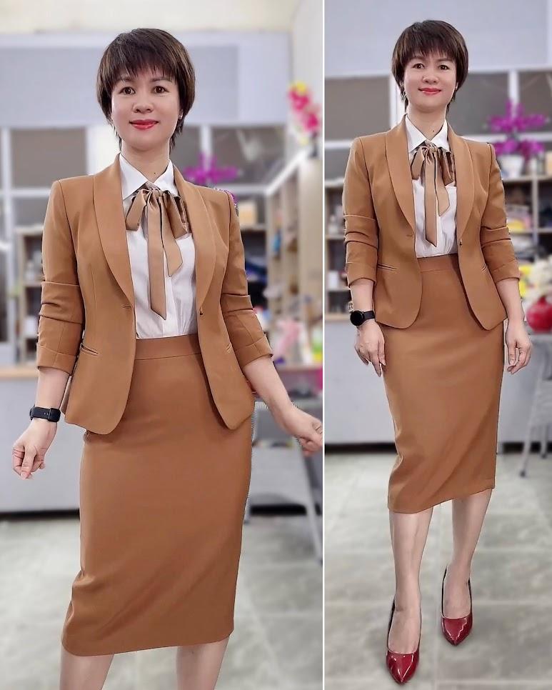 áo vest nữ công sở thời trang thủy thiết kế ở hà nội